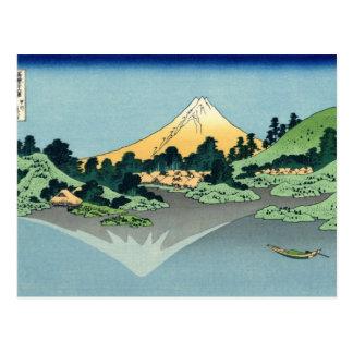The Fuji reflects in Lake Kawaguchi Postcard