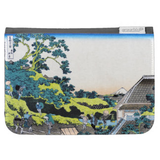 The Fuji seen from the Mishima pass Hokusai Kindle Keyboard Case