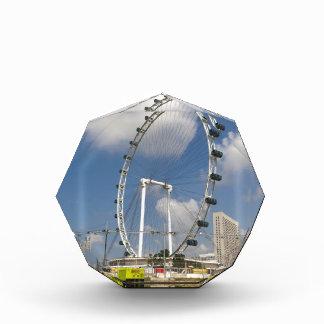 The full circle of Singapore Flyer in Singapore Acrylic Award