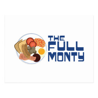 The Full Monty Postcard
