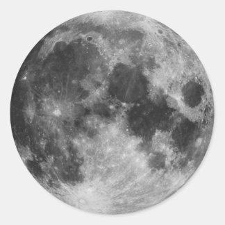 The Full Moon Classic Round Sticker