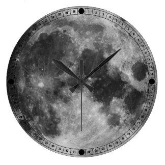 The Full Moon Large Clock