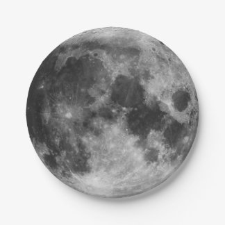 The Full Moon Paper Plate