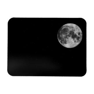 The Full Moon Rectangular Photo Magnet