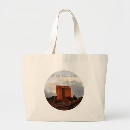 The full moon' S Tower Large Tote Bag