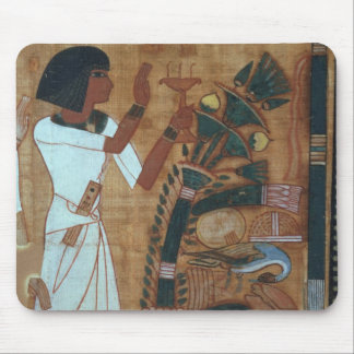 The Fumigation of Osiris, page from the Book of th Mouse Pad