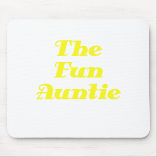 The Fun Auntie Mouse Pad