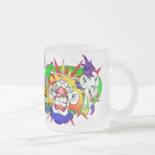 The Fun Boys 10 Oz Frosted Glass Coffee Mug
