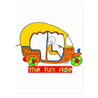 The Fun Ride Postcard