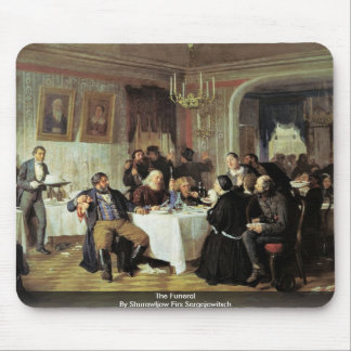 The Funeral By Shurawljow Firs Sergejewitsch Mouse Pad