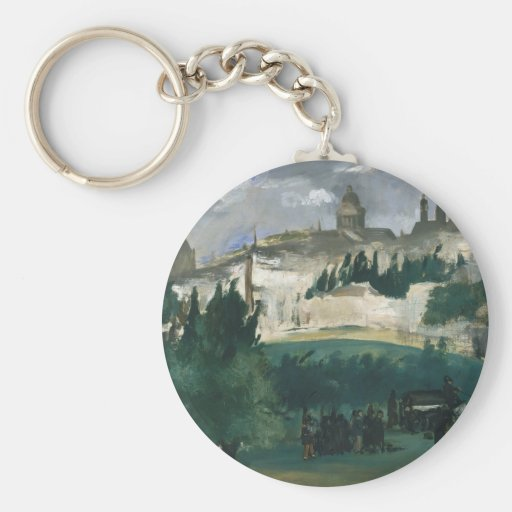 The Funeral - Édouard Manet Keychain