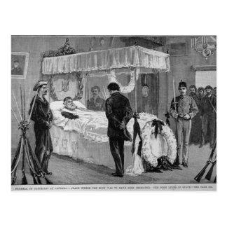 The Funeral of Garibaldi at Caprera Postcard