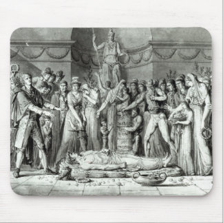 The Funeral of Jean Paul Marat Mouse Pad