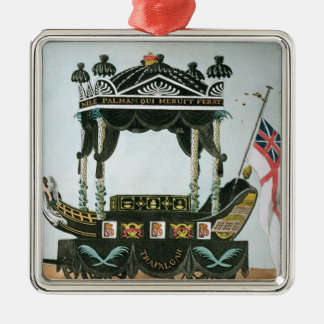 The Funeral of Lord Nelson  on 9th January 1806 Metal Ornament
