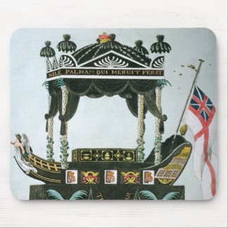 The Funeral of Lord Nelson  on 9th January 1806 Mouse Pad