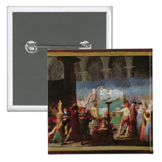 The Funeral of Marat in the Ancient Church Pinback Buttons