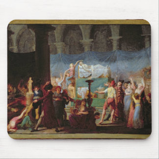 The Funeral of Marat in the Ancient Church Mouse Pad
