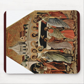 The Funeral Of Mary By Duccio Di Buoninsegna Mousepads