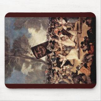 The Funeral Of Sardina By Francisco De Goya Mousepads