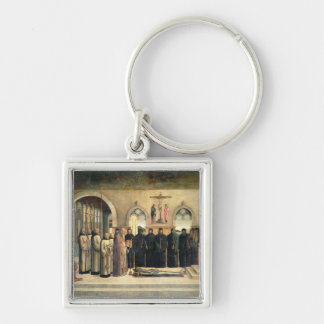 The Funeral of St. Jerome, c.1470-1472 (oil on can Keychains