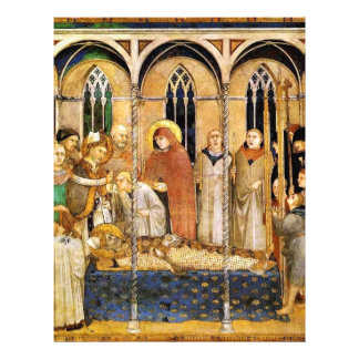 """The Funeral Of St. Martin By Martini Simone (Best 8.5"""" X 11"""" Flyer"""