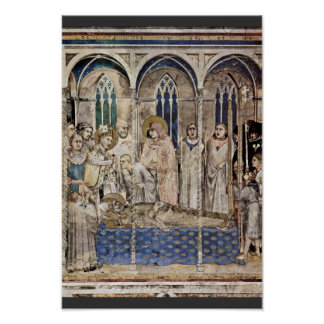 The Funeral Of St. Martin By Martini Simone Print
