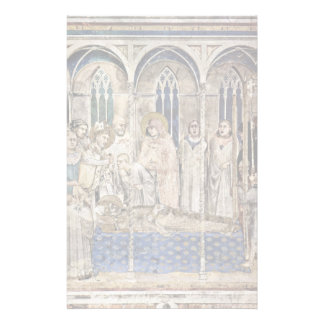 The Funeral Of St. Martin By Martini Simone Stationery Paper
