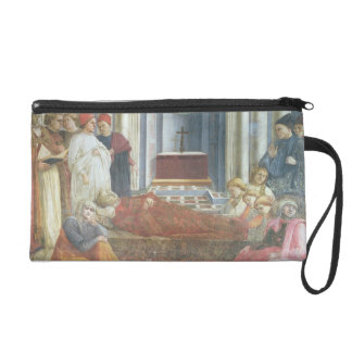 The Funeral of St. Stephen, detail from the cycle Wristlet Clutches
