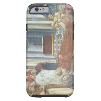 The Funeral of St. Stephen, detail from the cycle Tough iPhone 6 Case