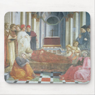 The Funeral of St. Stephen, detail from the cycle Mouse Pad