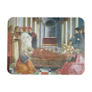 The Funeral of St. Stephen, detail from the cycle Flexible Magnet