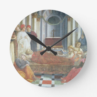 The Funeral of St. Stephen, detail from the cycle Round Clock