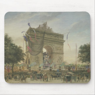The Funeral of Victor Hugo  1885 Mouse Pad
