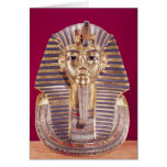 The funerary mask of Tutankhamun Greeting Card