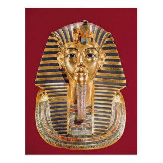 The funerary mask of Tutankhamun Postcard