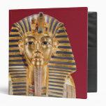 The funerary mask of Tutankhamun Vinyl Binder