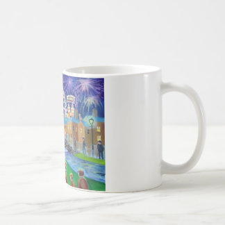 the FunFair oil painting Gordon Bruce art Coffee Mug