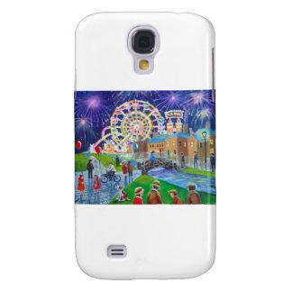 the FunFair oil painting Gordon Bruce art Samsung S4 Case