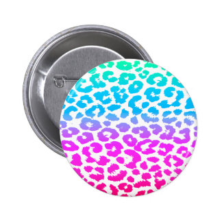 The Funky Leopard 2 Inch Round Button