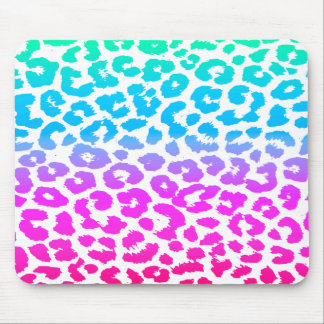 The Funky Leopard Mouse Pad