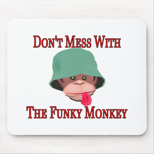 The Funky Monkey Mousepads