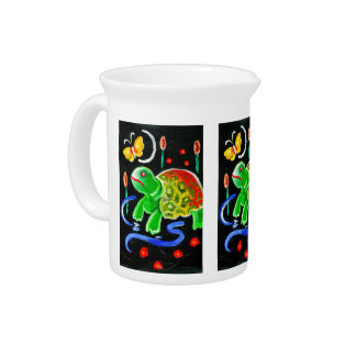 The Funky Turtle Pitcher
