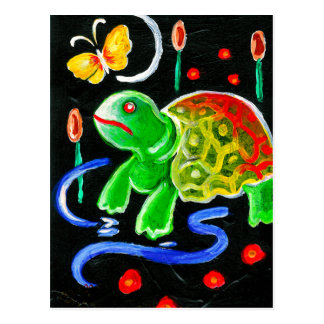 The Funky Turtle Postcards
