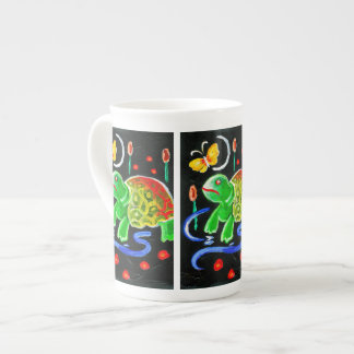 The Funky Turtle Tea Cup