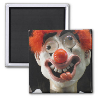 The Funny Face Clown Magnet