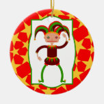 The funny jester ornaments