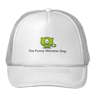 The Funny Monster Dog Hat