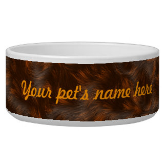 The fur collection - Calico Fur Bowl