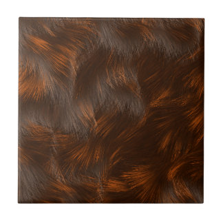 The fur collection - Calico Fur Ceramic Tile