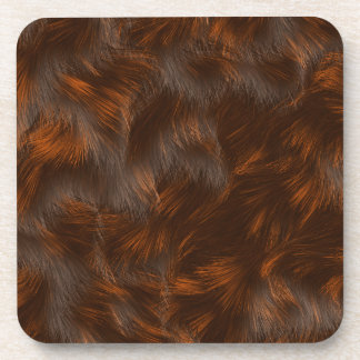 The fur collection - Calico Fur Drink Coaster